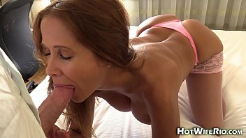 hungyoungbrit HotWifeRio cheating in hotel cum eating