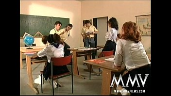 dirtywifestyle MMV Films German class room orgy