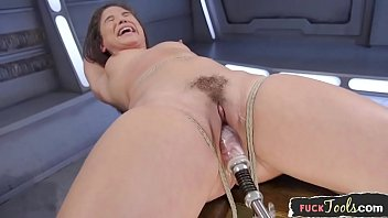 clubvipclip Bound glam beauty drilled by sex machine