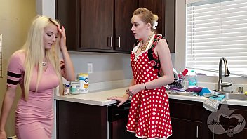loan4k Mother helps her Daughter Move on from Ex - Realistic Strapon Scene