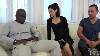 m Cuckold Training Wife fucks black man in front of husband and pussy licked