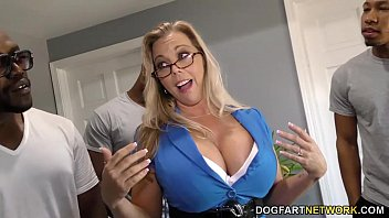 scute Amber Lynn Bach gets gangbanged and creampied by BBCs