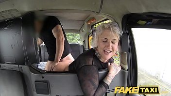 wwwxx Fake Taxi blonde milf gets surprise anal sex and rims the driver