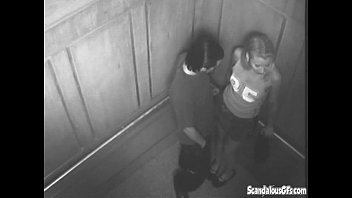 mexzoo Sexy Time In The Elevator Gets Caught On Cam