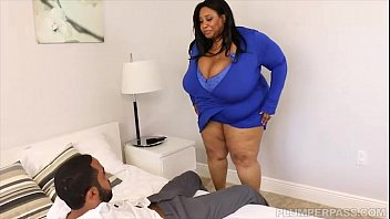 blowbang Huge Tit Ebony BBW Cotton Candi Fucks Next Door BBC