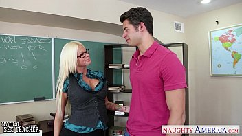 puremature com Sex teacher Nikita Von James fuck