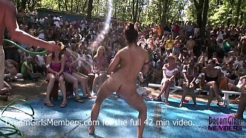 chaturvate No Rules Wet T-shirt Contest At A Nudist Resort
