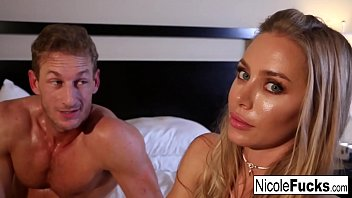 victoriasergey Hot Nicole shoots with a hot stud while playing on social media