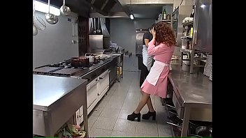 newshemaletube The new young waitress is hard fucked in the kitchen