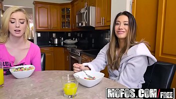 3vids Share My BF - Snowballing Stepsister and GF starring Levi Cash and Eva Lovia and Haley Reed