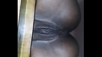 usafrunner12 Pretty Ebony Pussy Sitting Nice On A Chair Then Fuck And Creampie Her
