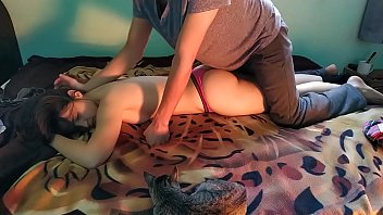 xxxtv My sister pray for an erotic massage and i give her the best massage of her life part 1