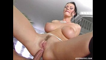 Ass Traffic huge big tits anal fucked and double prated