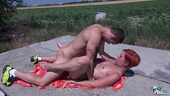 momcomesfirst MyFirstPublic Public fucking in the woods