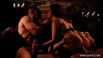 girlfriends4ever Passionate threesome with beautiful babe and two hot lovers