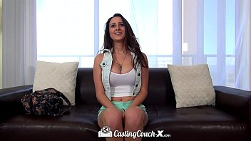 got2pee HD CastingCouch-X - Big tit Ashley Adams tries her first porn shoot