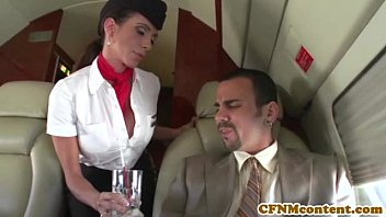 soloporno Aimee Addison joins the mile high club