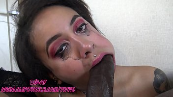 Bad Bitch Named Kingsey Gives Sloppy Head To BBC- DSLAF