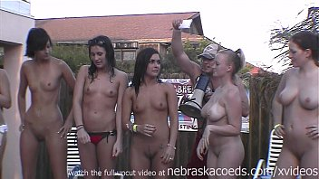 iporntv real full nude frat house backyard strip contest these girls will be pissed