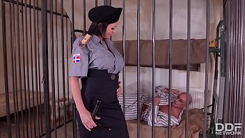 heyzo com Crazy Hot Prison Guard Patty Michova Fucks Prisoners Big Dick