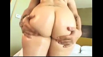 nikkieliot ava rose gets her big ass oiled groped and fucked
