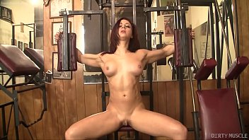 cuteangelx Sexy Fit Redhead with a Fantastic Ass and Huge Clit Masturbates