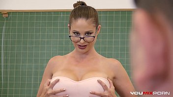 xnxnxx YOUMIXPORN Interactive - Busty Teacher Cathy Heaven fucks horny student