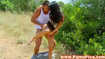 xxxtrans Senorita amateur outdoors pounded from behind
