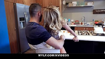 www xnx MYLF - Big Dick Stepson Cums All Over Hot Cougar Stepmom