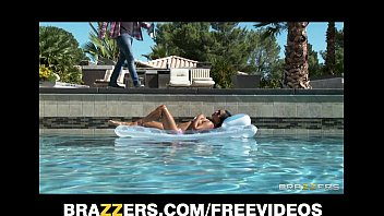 pornetube Sexy sun bathing Asian wife Lana Violet fucks her gardener
