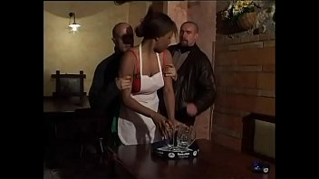 sarapbeh Sexy black maid fucked in the toilet