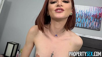 kagney PropertySex - Tiny babe busts roommate sniffing her panties