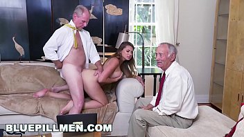 javtube BLUE PILL MEN - Young PAWG Ivy Rose Stuffed With Geriatric Cock