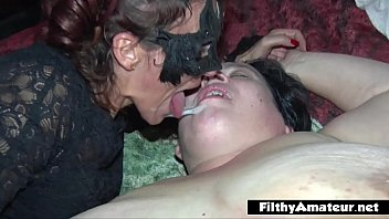 eporn Double anal Pration DAP for nasty milf in real orgy