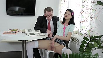 159i Tricky Old Teacher - Jody played with her pussy