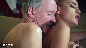 pornoup Old Man Dominated by sexy hot babe in old young femdom hardcore fucking