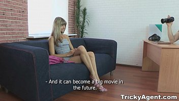 bbc69 com Tricky Agent - Fake blond girl Gina Gerson is hot and to fuck teen porn