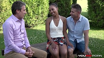 watch8x com Interracial - Cheating Ebony Shade Rose hardcore fuck with sex therapist