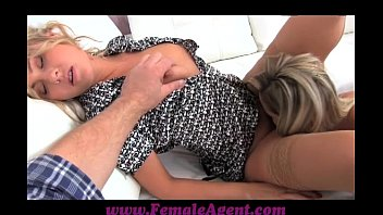69 com FemaleAgent Assistant camerman gets in on the action