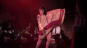 pornvedios Dannie Diesel aka Danielle Colby performs with Bustout Burlesque New Orleans