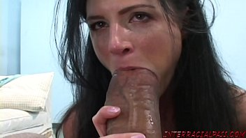 frenchbukkake India Summer gets excited for big black cock