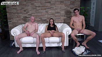 pornfuror Melonechallenge Lets party begin threesome with Mea Melone & two horny dudes