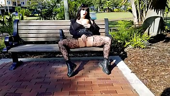 solazola Public Masturbation Squirting Shameless Goth Slut