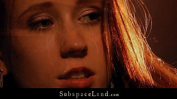 anybunny mobi Redhead innocent sex slave hard punished by her Master