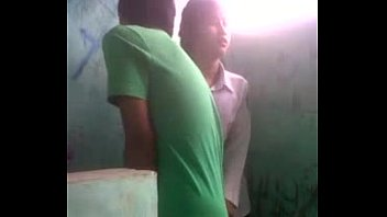 camarads Bhutanese Nepali girl in uniform fucks in public toilet resulting in custom all