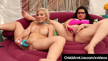 worldfreex com Asian Latina Cristi Ann Bangs Pussy With BBW Angelina Castro