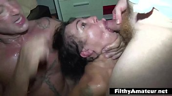 badmasti Coke in the ass and head in the toilet Furious orgy
