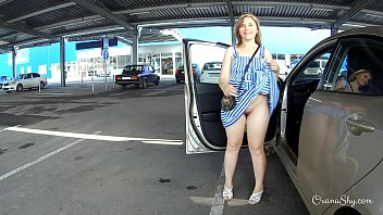 leslietopulos Public flashing and butt plug in store