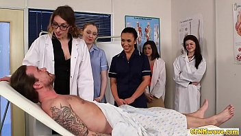 avseesee Nurses blowing cfnm cock in group domination