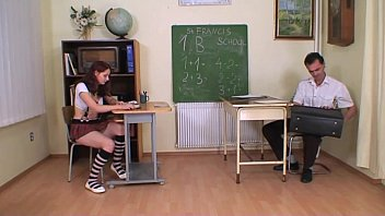 beemtube Strict teacher punishes and bangs a schoolgirl